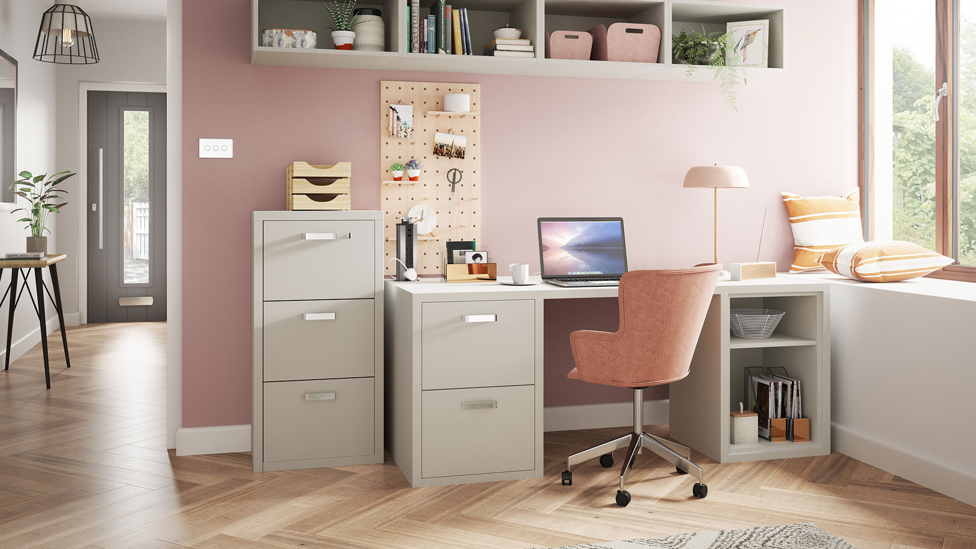separate office from home space